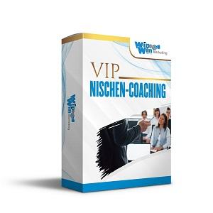 1 zu 1 VIP Nischen-Coaching<br>(Persönliche Betreuung)