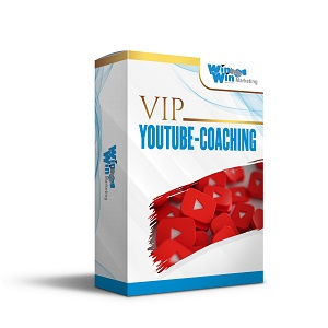 1 zu 1 VIP Youtube-Coaching<br>(Persönliche Betreuung)