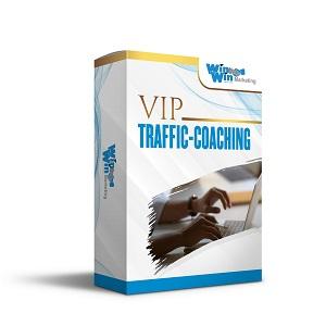1 zu 1 VIP Traffic Coaching<br>(Persönliche Betreuung)